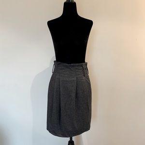 Talula Babaton Women's Paper Bag Wool Skirt